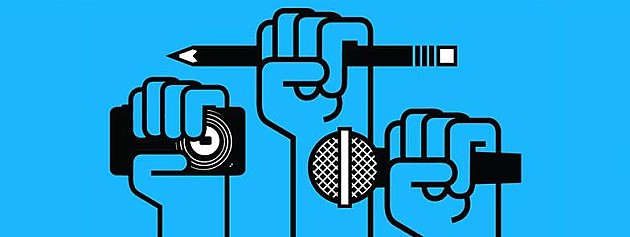 """Sutra protest """"Novinari ne kleče - Izbori nisu smena"""""""