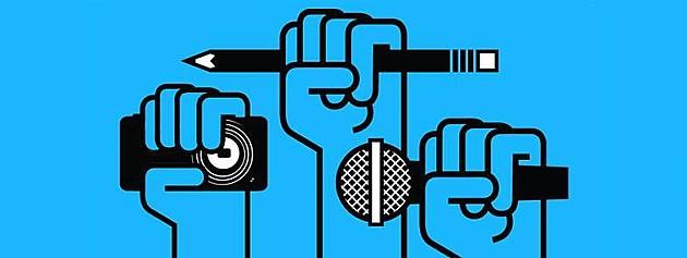 """Sutra protest """"Novinari ne kleče / Predsedniče Vlade, ko je ministar odbrane?"""""""