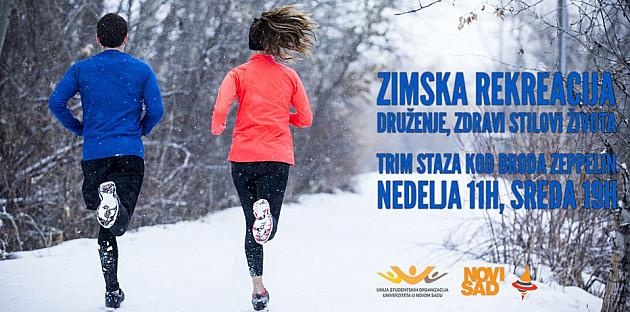 Zimsko grupno trčanje za studente