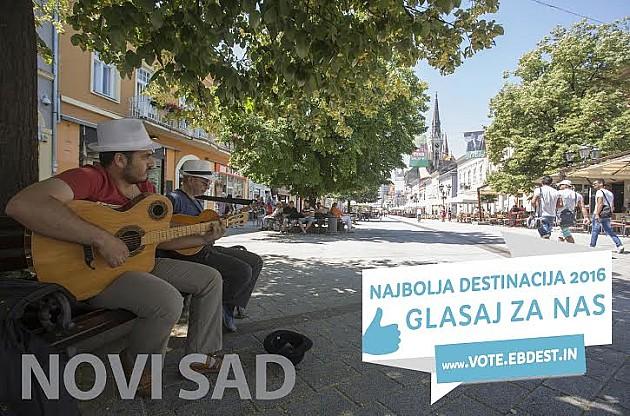 """Novi Sad u trci za """"Najbolju destinaciju 2016"""""""
