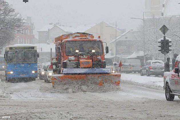 Gradska kuća: Stanje u gradu pod kontrolom bez obzira na sneg