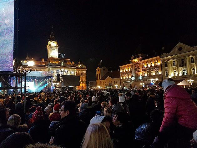 Novogodišnja noć u gradu protekla mirno