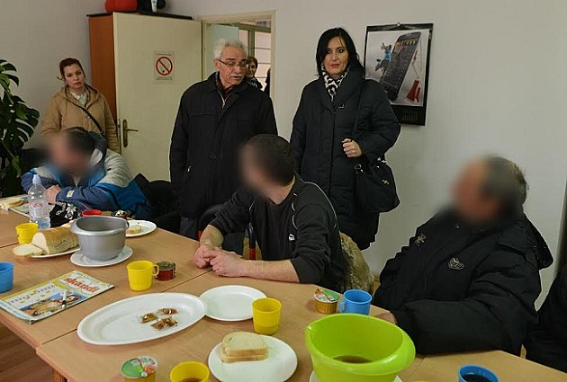 Beskućnicima dostupan zaklon od hladnoće