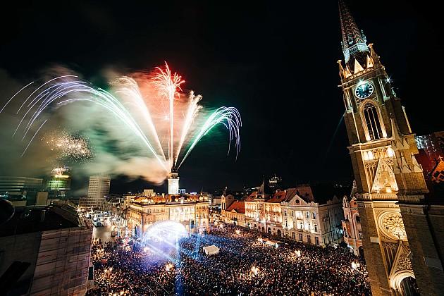 Нови Сад добио кључеве Омладинске престонице Европе