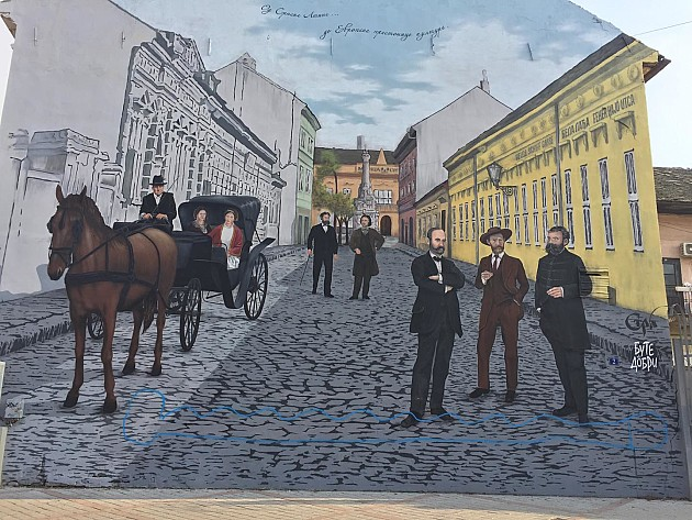 Nova godina i stari rat muralima: Osvanuo i peti kural