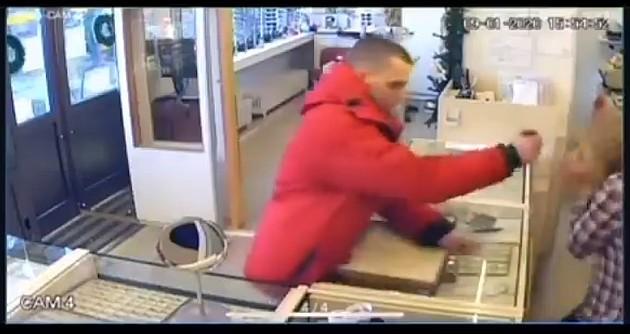 Lopov opljačkao zlataru na Novom naselju, ali je bekstvo išlo uz malo muke