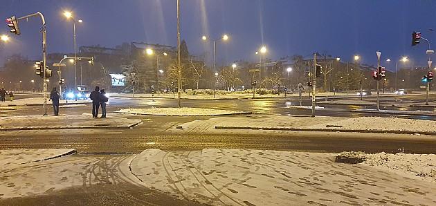 Pao prvi sneg ove godine