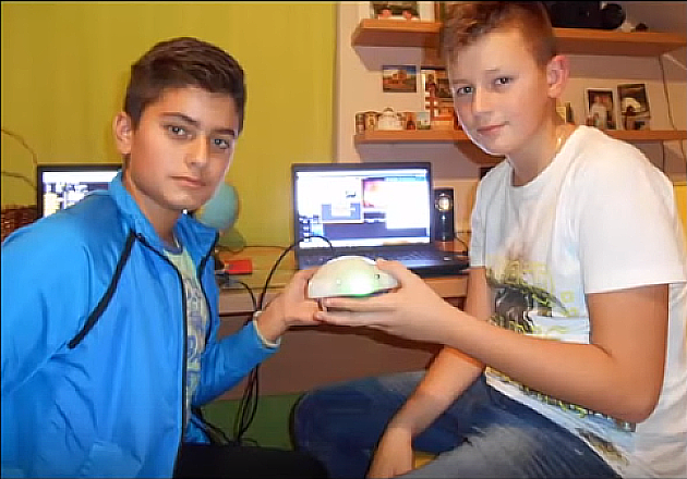 Dečacima genijalcima iz Kaća nedostaje 5.000 evra za takmičenje u Ženevi