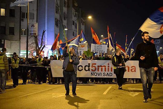 """Studenti i stanovnici Limana organizovano dolaze na protest """"1 od 5 miliona"""""""