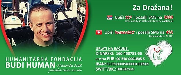 Potrebna pomoć za Dražana Vučića