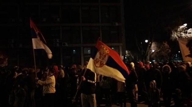 """Završen šesti protest """"Jedan od pet miliona"""" u Novom Sadu"""