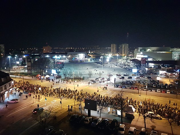 "(FOTO, VIDEO) Održan peti po redu protest ""Jedan od pet miliona"""