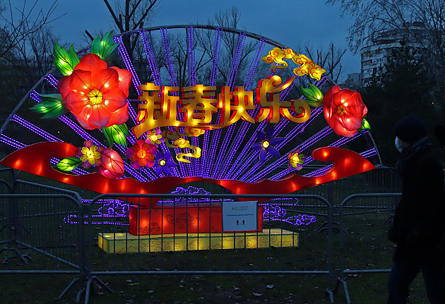 Kineski festival svetla produžen do nedelje