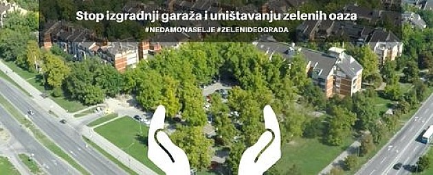 Protest protiv plana za Novo naselje