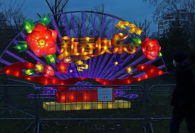 Zasijao Kineski festival svetla u Limanskom parku