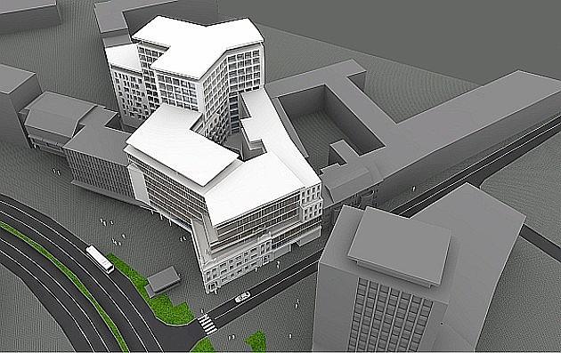 U centru počinje gradnja zgrade od 13 spratova