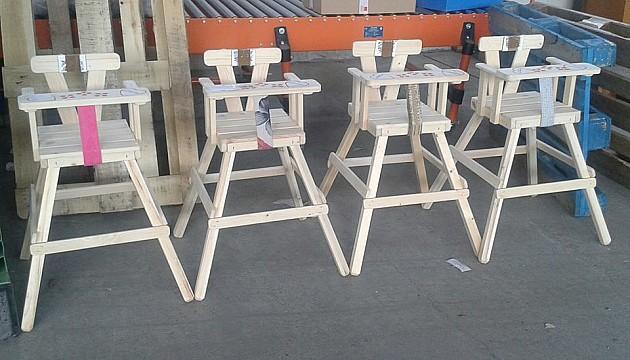 Stolar Mile moli za pomoć za kupovinu materijala za stolice za bebe