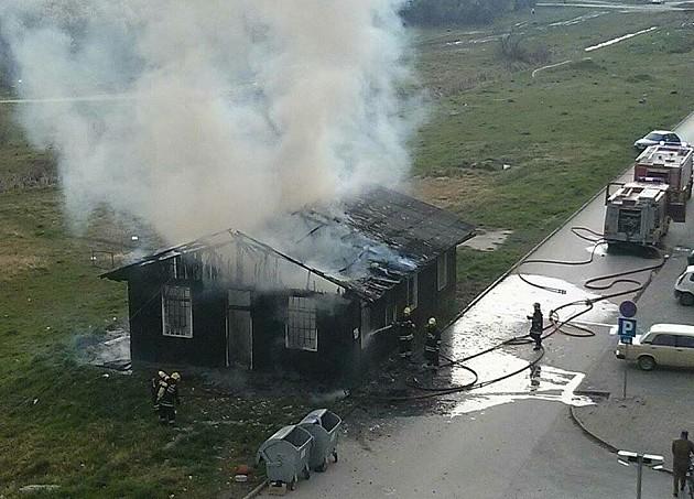 Izgorela baraka socijalno ugrožene porodice