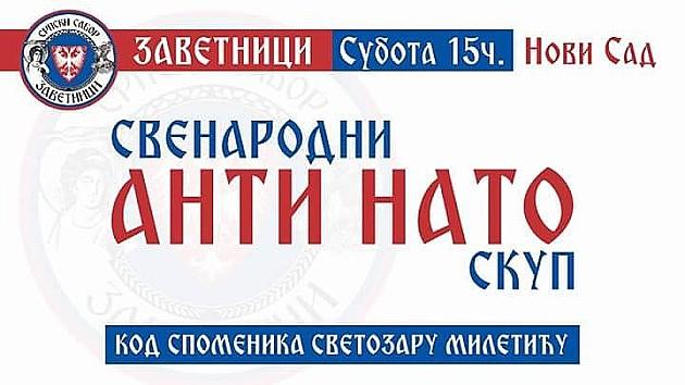 Danas na Trgu protest protiv NATO