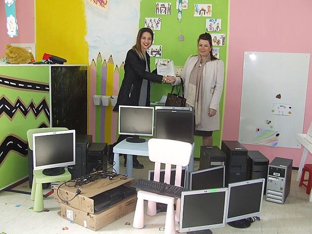 Za dva vrtića 10 računara