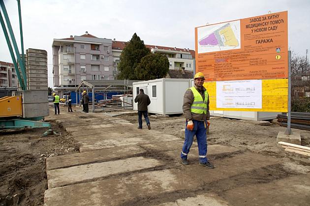 Položen kamen temeljac za zgradu Hitne pomoći