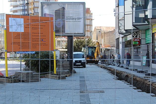Vodovod izvodi radove na više lokacija, jedna u centru grada