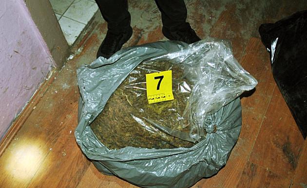 Novosadska policija zaplenila 27kg marihuane
