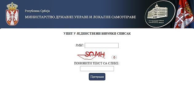 Građanima omogućen uvid u birački spisak u Novom Sadu