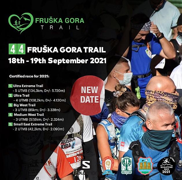 Fruškogorski maraton odložen za septembar