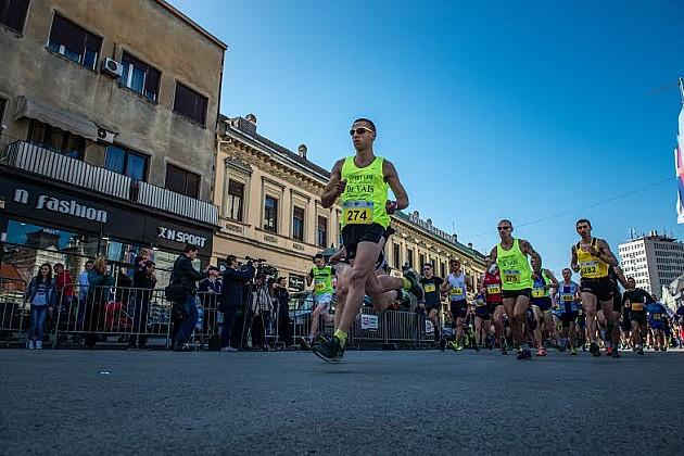 Ognjen Stojanović i Marijana Čegar Lukić pobednici Novosadskog polumaratona
