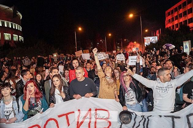 U toku novi protest, studentske organizacije se ograđuju