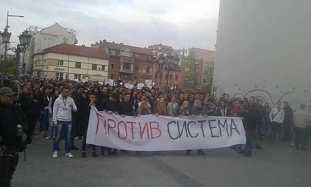 U toku protest protiv diktature