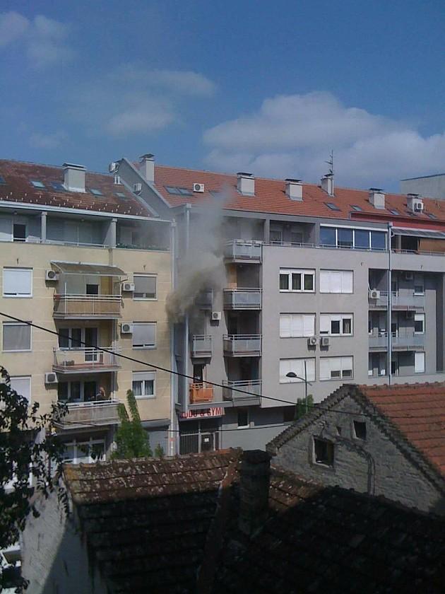 Požar u Doža Đerđa, zapalio se televizor