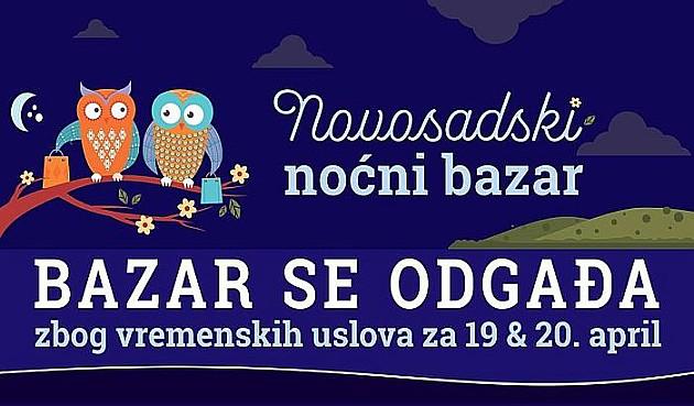 Jedanaesti Novosadski noćni bazar pomeren na 19. i 20. april