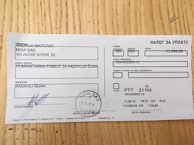 Uspela akcija novosadskog frizera - komšinici kupljena kolica