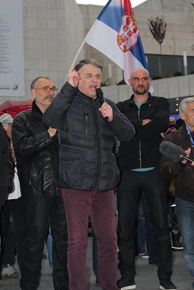 "Završen dvanaesti protest ""Jedan od pet miliona"""