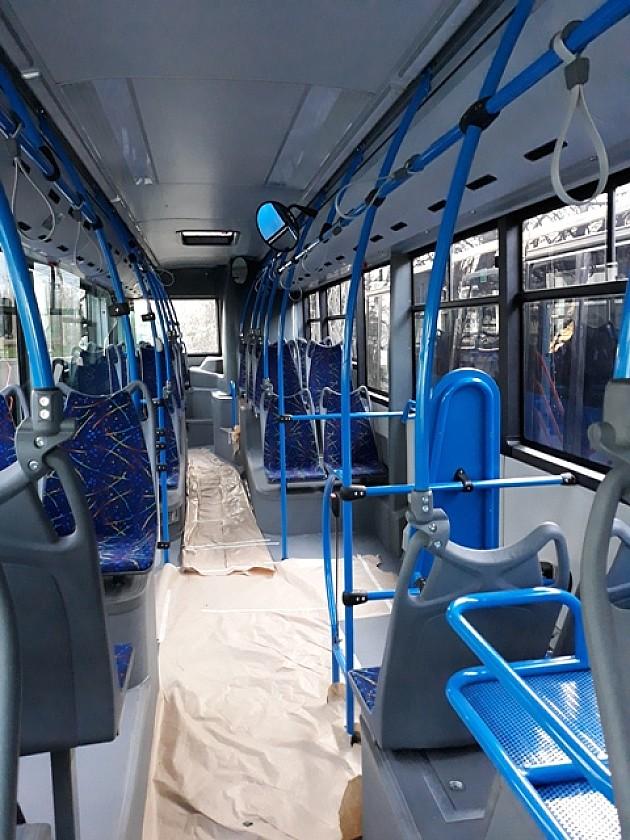 JGSP umesto osam novih autobusa kupuje 21