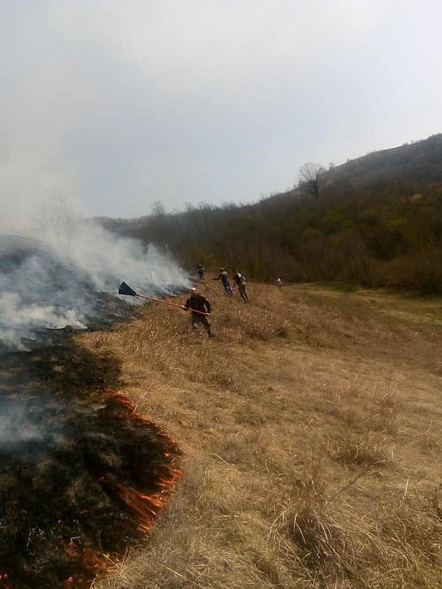 Od početka aprila 16 požara na Fruškoj gori