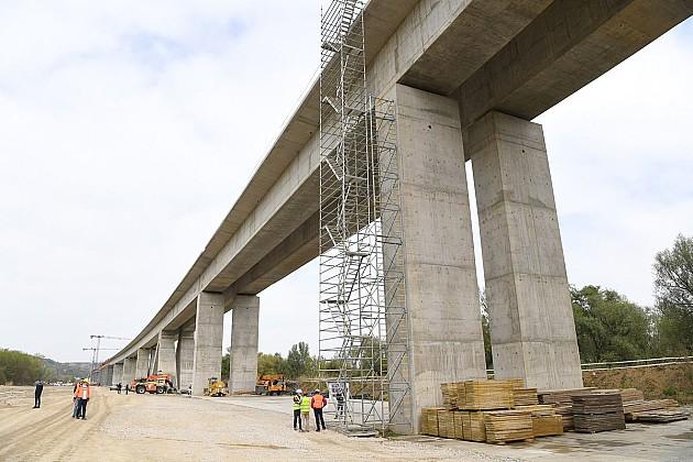Skoro završen vijadukt kod Čortanovaca