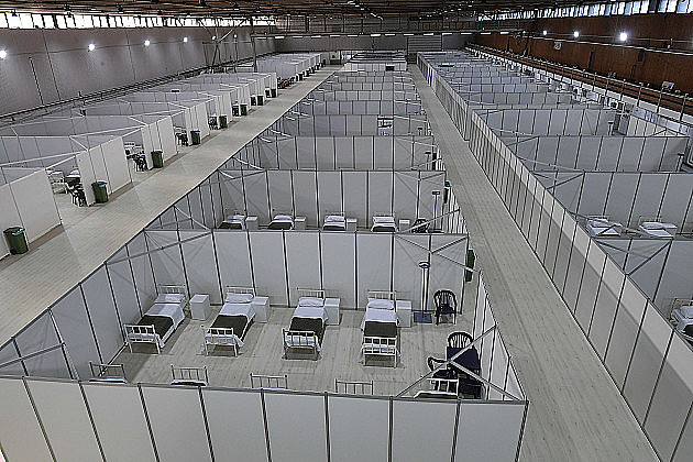 Od sutra prvi pacijenti na Novosadskom sajmu