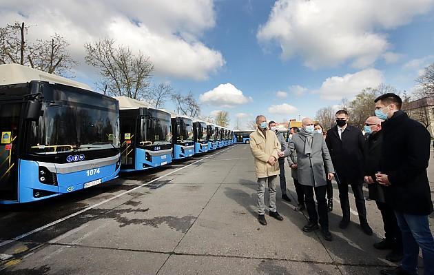 GSP bogatiji za 29 novih autobusa