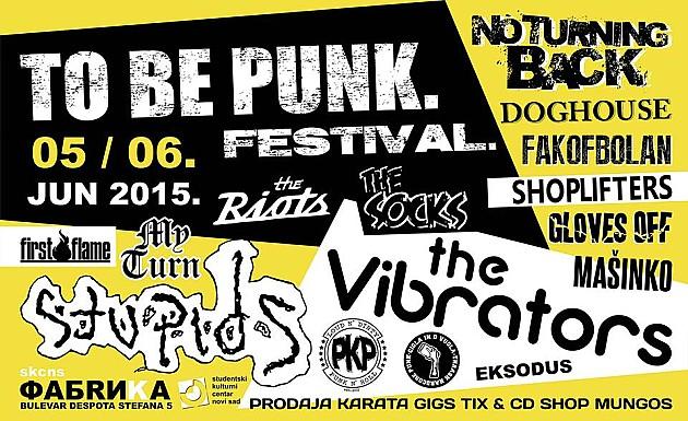 """15 bendova na """"To Be Punk-u"""""""