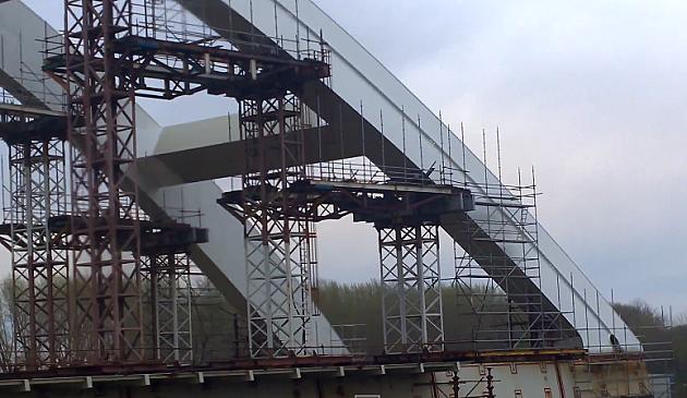 Nastavak izgradnje Žeželjevog mosta