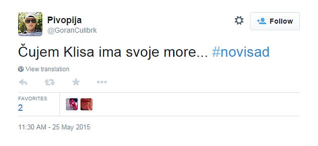 Pogledajte šta tviteraši kažu o poplavama u NS