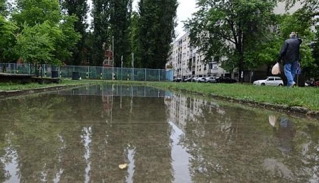 Vanredna odbrana od poplava u delovima grada