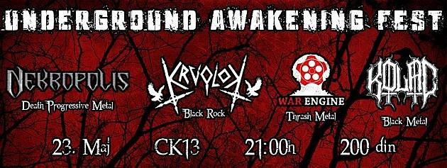 Opasan metal večeras u CK13