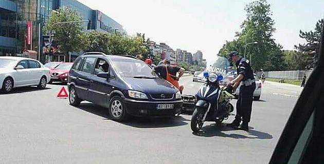 Motociklista povređen kod Merkatora