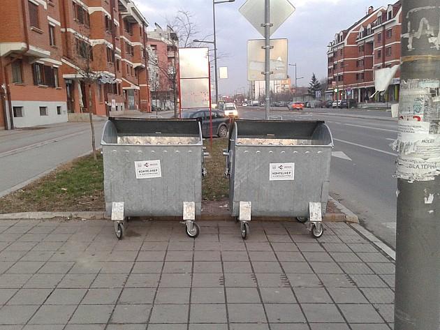 Uskoro novi kontejneri na gradskim ulicama