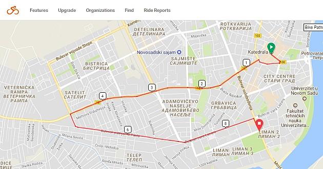 Svetski dan bicikla u Novom Sadu