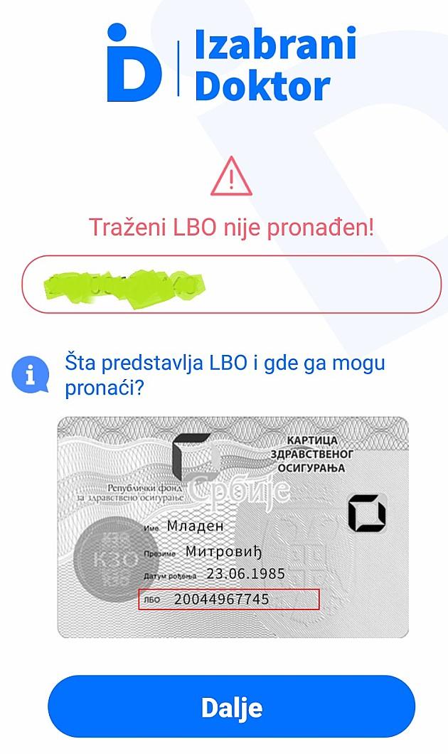 Zakazivanje pregleda kod lekara i preko mobilne aplikacije